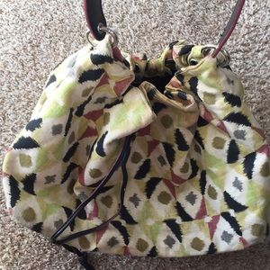 Awesome large over the shoulder tote style bag